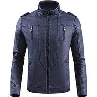 Wholesale Pakistan Men Tactical Fleece Lining Military Windproof leather Jacket