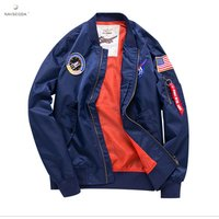 2019 hot  clothing mens bomber jacket stand collar big size thin embroidery mens baseball coat denim jacket jacket for men