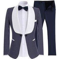 2019 groom tuxedo excellent mens wedding evening dress high quality mens formal business dance party set (jacket + pants)