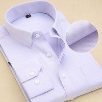black white light green pink white blue light purple slim flat stripes long sleeves oem mens business dress shirt