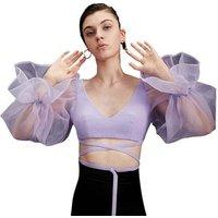 FS1317B evening summer mesh sexy fashion women tops