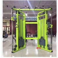 'Commercial Adjustable Dual  Impulse  Hoist Multi Smith Cable Crossover Machine