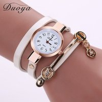 Fashion OEM cheap Women leather Bracelet Watches Luxury Lady Dress Quartz watch Ladies Wristwatches Montre Femme Clock Relogio