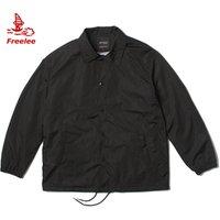 Nylon waterproof custom men coaches jacket