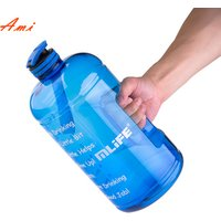 2019 Hot Product One Gallon Water Bottle BPA Free Gallon Jug for Gym