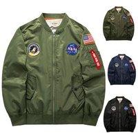 Ma1 Aviator Running Jacket Of 100% Cotton Winter Tide Army Mens Jacket