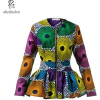 Custom Wholesale Women Jacket Design African Clothes Lady Jacket