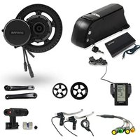 36v 250w bafang mid drive electric bicycle motor ebike conversion kit  with downtube battery