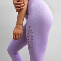 2018 High Waist Yoga Wear Women Seamless Yoga Fitness Gym Leggings Compression Tights