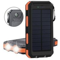 '2019 Best Selling 10000mah Solar Panel Charger For Mobile Phone Waterproof Solar Phone Charger Solar Power Bank With Compass