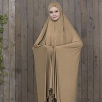 Cheap Modern Full Color Sleeveless Dubai Dress Kaftan Muslim Prayer Dress