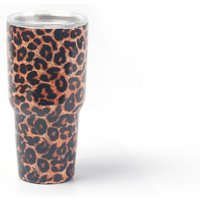 Wholesale 30oz Leopard Tumblers 30oz Stainless Steel  Cups 30oz Double Wall SS Tumblers Vacuum Cups DOM103330