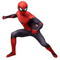 Marvel legends spiderman cosplay costume Adult spiderman suit for Kids