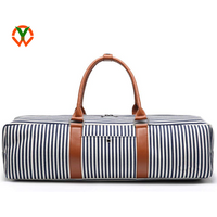 High quality Canvas carry Tote Yoga Mat bag with Storage Pockets