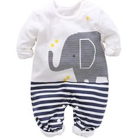 Newborn Clothing 2018 New Baby Boy Girl Rompers Long 100% Cotton Long Sleeve Infant pajamas