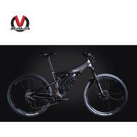 SAVA factory price carbon electric bicycle T300 Torque motor Full suspension carbon fiber MTB ebike