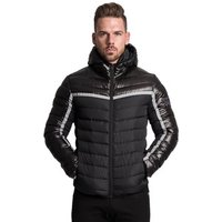 Muscle men winter 2018 new outdoor loose cardigan and cotton-padded jacket mens gym coat