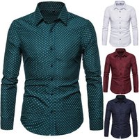 Ecoparty Men Casual Long Sleeved Slim Fit Male Social Business Dress Shirt Brand Men Clothing Soft Comfortable plus size 5XL