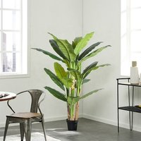 170 cm artificial banana tree artificial green indoor decorative bonsai tree for sale