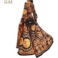 New Fashion Womens Autumn Boho Floral Print Long Sleeve Split LOng Maxi Dress Party Beach Sundress Evening Dresses