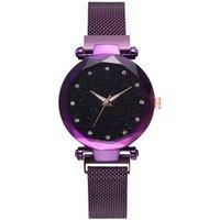 Hot sell Luxury Women Watches Ladies Magnetic Starry Sky Clock Fashion Diamond Female Quartz Wrist watches