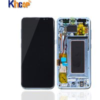 AMOLED Original For Samsung mobile phones LCD, for Samsung Galaxy S8 LCD assembly, for Samsung S8 Display G950 G950F with frame