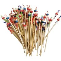 'Clean Ears And Remove Wax With Doll Heads Bamboo Handmade Earpick