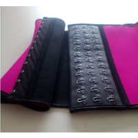 ladies 100% latex slimming waist cincher corset waist slimming shaper