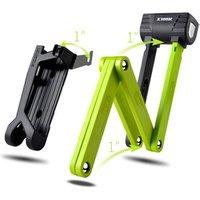 ETOOK High Security Bike Lock Anti Shear Hardened Steel Folding Bicycle Lock