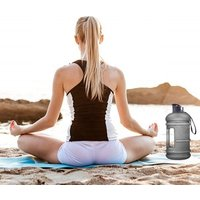 2.2L Super large  water bottle Capacity Leak Proof BPA Free PETG Plastic Sports Jug sport bottle