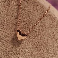 Hot Selling new arrival wholesale Heart Locket Pendant charm Necklace chain Jewelry
