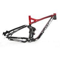 Direct China OEM Bike Factory 27.5 inch aluminium  MTB full suspension frame