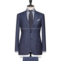 Full canvas slim pattern bespoke mens suit,custom tailor made suit 2 PIECES