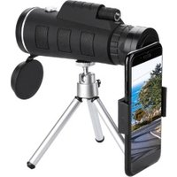 Shenzhen wholesale price portable Optical 40x60 zoom monocular telescope telephoto lens for mobile phone shooting, bird watching