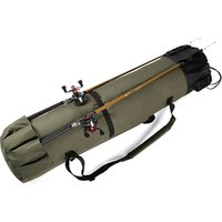 Portable Multifunctional Fishing Rod Reel Case Bag for Outdoor Sports