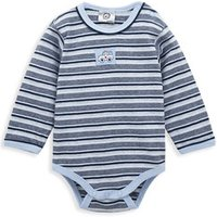 Baby Clothing Yarn Dyed Striped Long Sleeve Coveralls Newborn Cotton Infant Jumpsuit Baby Boy Bodysuits