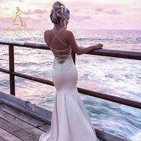 Wholesale Manufacture Mermaid Sexy Long Gown 2019 Prom Formal Halter Backless Evening Dress