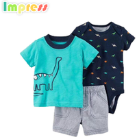 3 Pc Baby boy clothes newborn baby clothing sets