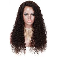 Free samples curly hair extensions 360 lace frontal wig