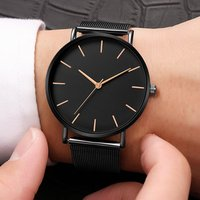 Hot Bosally Men Watch Casual Stainless Steel Waterproof Watches Men Wrist Luxury Quartz Business Wristwatches Relogio Masculino