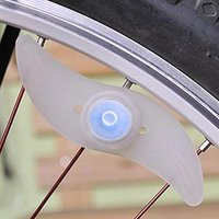 YADU Hot Bicycle Spokes Lamp Safety Alarm Cycling Bike Willow LED Wheel Wire Tire Tyre Lights Wheel Flash Lamp