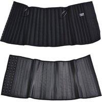 25 Steel boned Tops Selling 100% 25 steel bone latex waist trainer corset waist cincher for sportswear body shapers