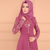 New types Long sleeve  floor length evening dresses luxurious islamic clothing abaya kaftan  muslim dress