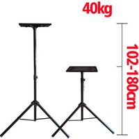 1.02m-1.8m adjustable 360 rotate universal projector tripod stand bracket DVD Player floor holder laptop stand speaker stand