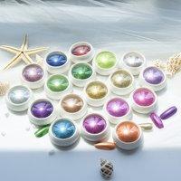 2019 Multi Pigment Art Dipping Chrome System  Mirror Uv Gel Bulk  Acrylic Nail Powder