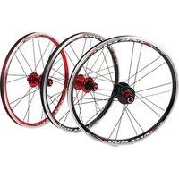BXM folding bike 20inch RT *1-3/8 V /disc Brake Front 2 Rear 5 Bearing Ultra Smooth light 451/406 wheel wheels rim