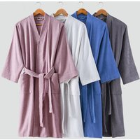 new design cotton bath robe  fashionable 100% cotton  boys and girls bathrobe  hotel terry bathrobe