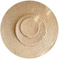 cheapest wholesale round rattan placemat for wedding table