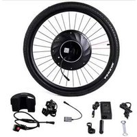 Wireless front hub wheel electric bicycle  motor kit 36v 350w imotor with LCD display