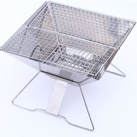 Outdoor portable grill integrated lifting carbon oven multi-person grill japanese portable barbecue grill